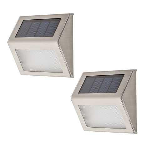 Rabalux - KÉSZLET 2xLED Kültéri fali lámpa 2xLED/0,12W