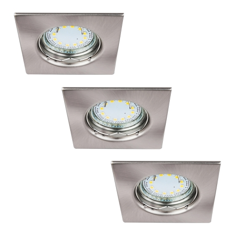 Rabalux - KÉSZLET 3xLED Beépíthető lámpa LITE 3xGU10-LED/3W/230V