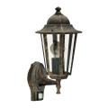 Rabalux - Kültéri fali lámpa a mozgásérzékelős 1xE27/60W/230V