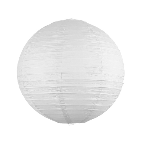 Rabalux - Lámpabúra fehér E27 átm.30 cm