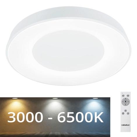 Rabalux - LED Dimmelhető mennyezeti lámpa LED/38W/230V fehér + távirányító 3000-6500K
