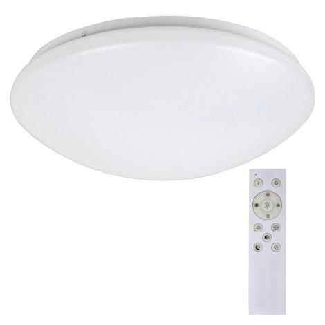 Rabalux - LED RGB Szabályozható mennyezeti lámpa távirányítóval LED/16W/230V