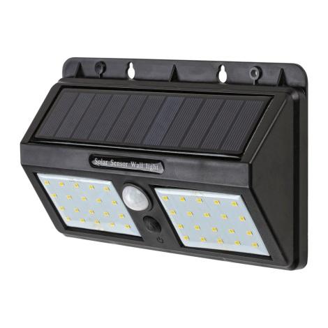 Rabalux - LED Szolár fali lámpa érzékelővel IP65