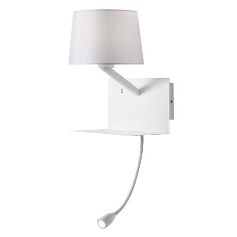 Redo 01-1807 - LED Fali lámpa TOMO 1xE27/42W/230V+1xLED/3W