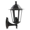 Redo 6101N - Kültéri fali lámpa  LONDON 1xE27/42W/230V IP33
