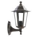 Redo 6101R - Kültéri fali lámpa  LONDON 1xE27/42W/230V IP33