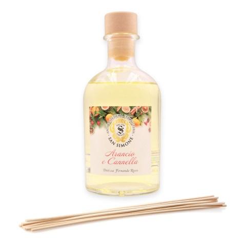 San Simone - Aroma diffúzor pálcákkal ARANCIO CANNELLA 250 ml