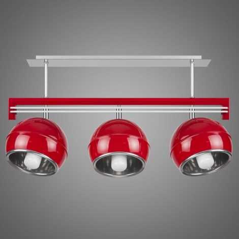 SANGA SG/KU/3/RD függeszték 3xE14/60W piros