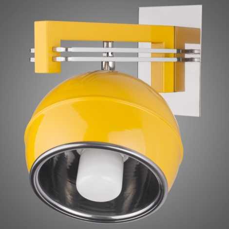 SANGA SG/KU/K/YL fali lámpa 1xE14/60W sárga