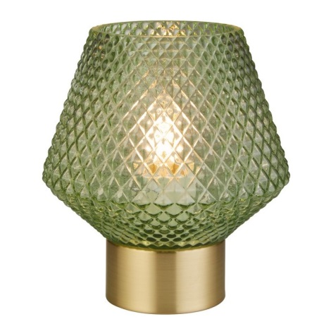 Searchlight - Asztali lámpa RETRO 1xE27/7W/230V zöld