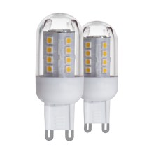 SET 2x LED Izzó G9/2,5W - Eglo 11461