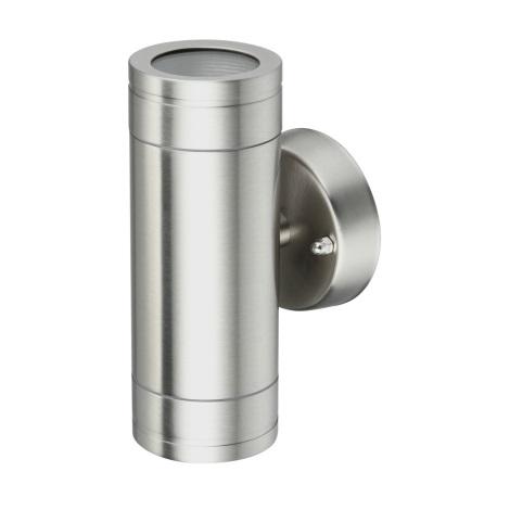 SG672 - OLIMP 1 kültéri fali lámpa 2xGU10/35W rozsdamentes acél
