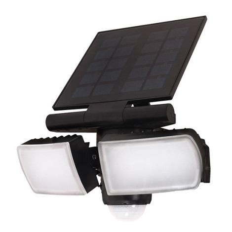 Solight WO772 - LED napelemes fényáram érzékelővel 2000mAh LED / 8W / 3,7V IP44