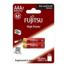 Soligth FU-LR03HP-2B - 2 db alkáli elem High Power AAA 1,5V