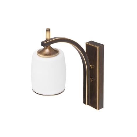 SONATA STK fali lámpa 1xE27/60W patinás arany