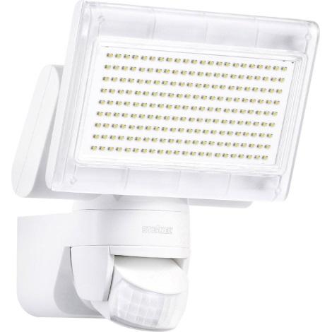 STEINEL 002695 - Érzékelő LED reflektor fehér XLed Home