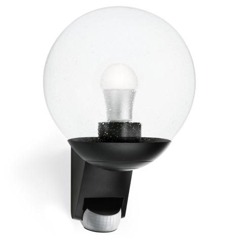 STEINEL 005535 - Kültéri fali fényérzékelő lámpa L585S 1xE27/60W černá
