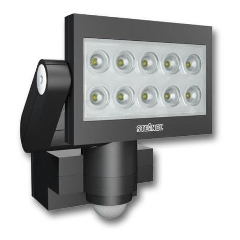 STEINEL 005672 - XLED szenzoros LED reflektor 10xLED/30W fekete