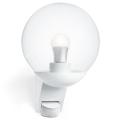 STEINEL 005917 - Kültéri fali lámpa érzékelővel L585S 1xE27/60W fehér IP44