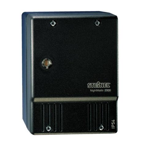 STEINEL 550318 - Alkony kapcsoló NightMatic 2000 fekete