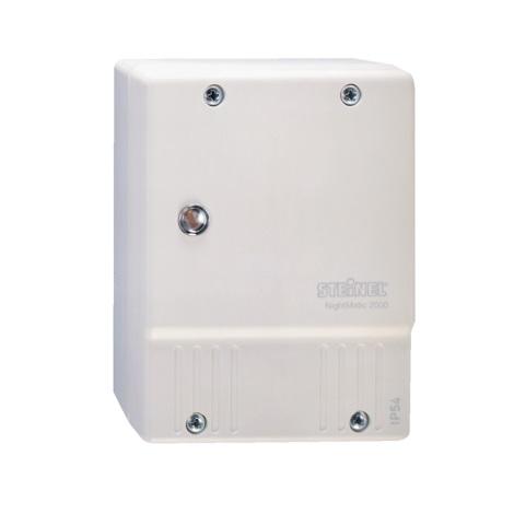 STEINEL 550417 - Alkonykapcsoló  NightMatic 2000 fehér