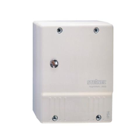 STEINEL 550615 - Alkony kapcsoló  NightMatic 3000 Vario fehér