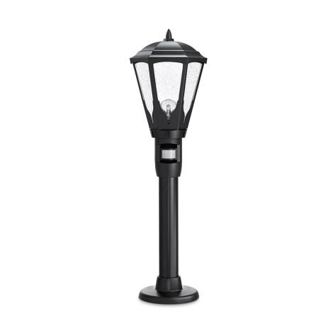 STEINEL 617011 - GL 16 S szenzoros kültéri lámpa 1xE27/100W fekete