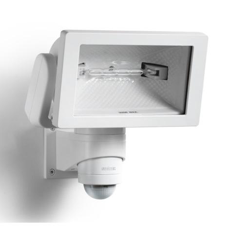 STEINEL 633318 - HS 300 DUO fehér  érzékelős lámpa kültéri használatra