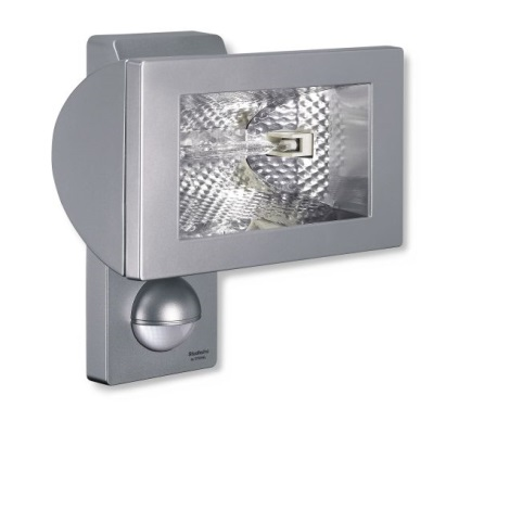 STEINEL 648510 - Halogén reflektor érzékelővel HS 502 ezüst