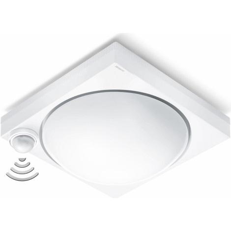 STEINEL 650315 - Mennyezeti lámpa  érzékelővel DL 750 S White