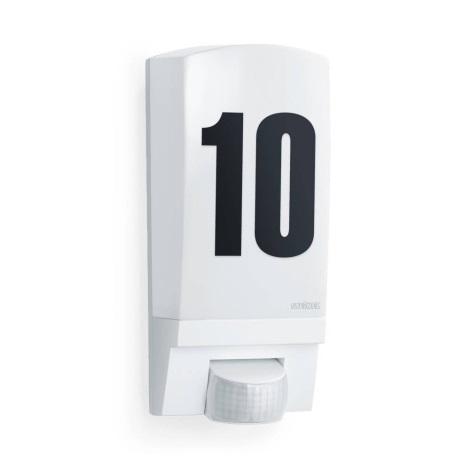 STEINEL 650513 - L1  fehér érzékelő lámpa  külső térbe