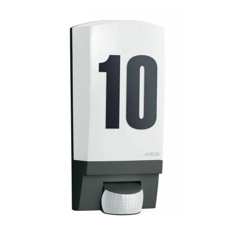 STEINEL 650612 - L1 kültéri szenzoros lámpa 1xE27/60W fekete
