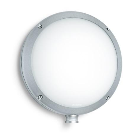 STEINEL 670214 - L 330 S szenzoros fali lámpa 1xE27/60W ezüst