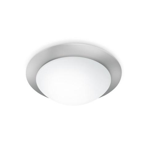 STEINEL 735715 - Mennyezeti lámpa érzékelővel RS 10-3 l ezüst/fehér üveg