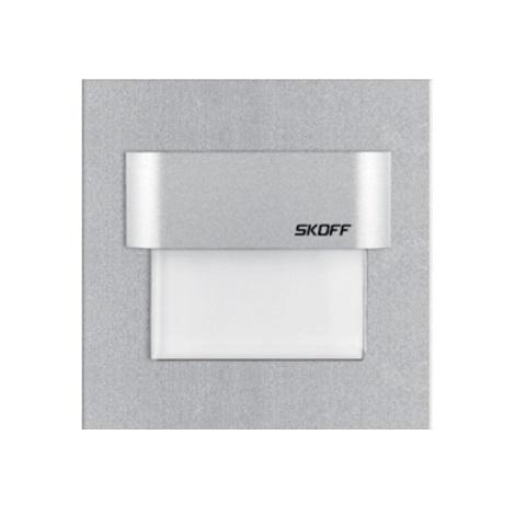 TANGO fali LED-es lámpa, fehér, alumínium, szerelési lyuk