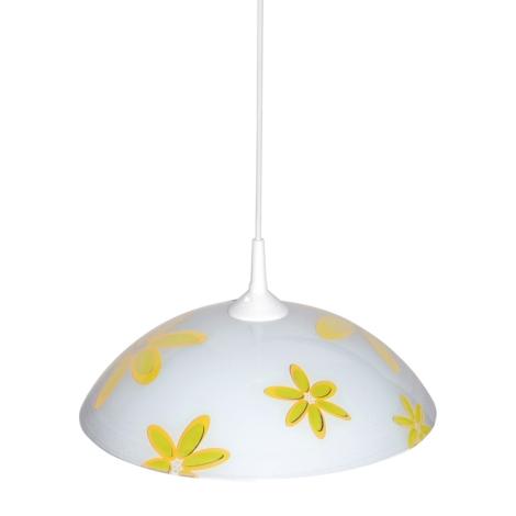 Top Light 1521/Kv/ZL - Csillár 1xE27/60W/230V sárga virág