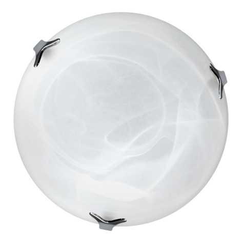 Top Light 5504/40/Cr/AL - Mennyezeti lámpa 2xE27/60W/230V