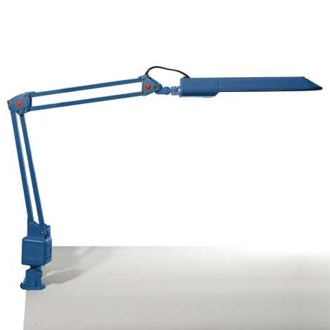 Top Light - Asztali lámpa OFFICE 1xG23/11W/230V kék