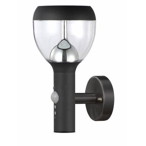 TOP LIGHT - LED Kültéri fali lámpa a mozgásérzékelős SONDRIO LED/10,5W/230V
