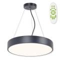 Top Light Metal 40CZ RC - LED Csillár METAL LED/51W/230V + távirányító fekete