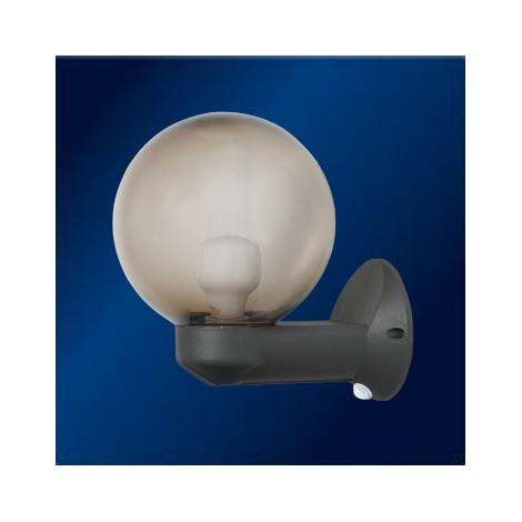 TOPLIGHT 502024 PIR - Kültéri fali lámpa érzékelővel  1xE27/60W/230V