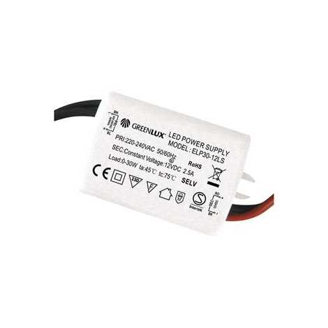 Transzformátor  LED szalaghoz LED 30W   - GXLD002