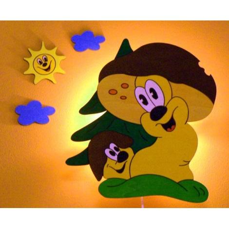 VARGÁNYÁK gyerek fali lámpa 1xE14/25W/220V