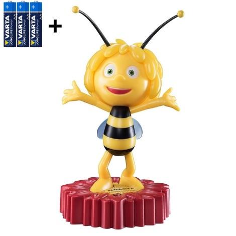 Varta 15635 - LED Gyerek éjjeli lámpa MAYA THE BEE LED/3xAA