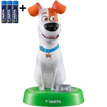 Varta 15641 - LED Gyermeklámpa THE SECRET LIFE OF PETS LED/3xAAA