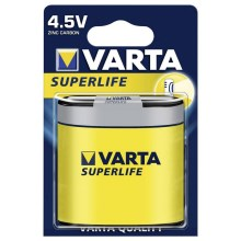 Varta 2012 - 1 db cink-szén elem SUPERLIFE 4,5V
