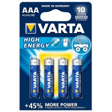 Varta 4903 - 4 db Alkáli elem HIGH ENERGY AAA 1,5V