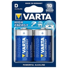 Varta 4920 - 2 db alkáli elem HIGH ENERGY D 1,5V