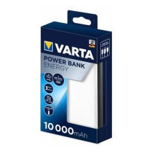 Varta 57976101111 - Power Bank ENERGY 10000mAh / 2,4V fehér