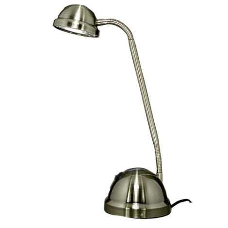 VEGA halogén asztali lámpa 1xGY6,35/35-50W patinás